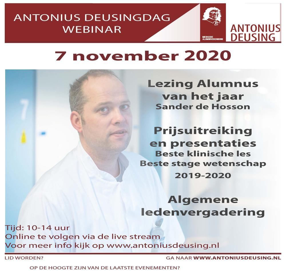 Webinar, Antonius Deusingdag 2020